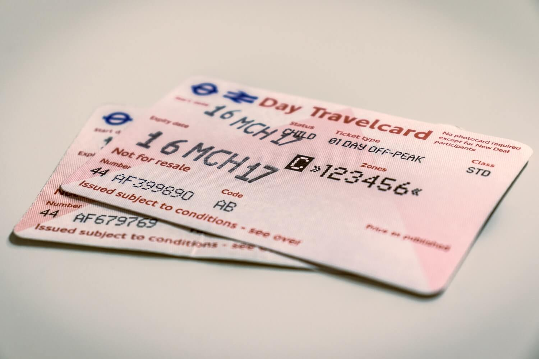 Bilet, Ticket