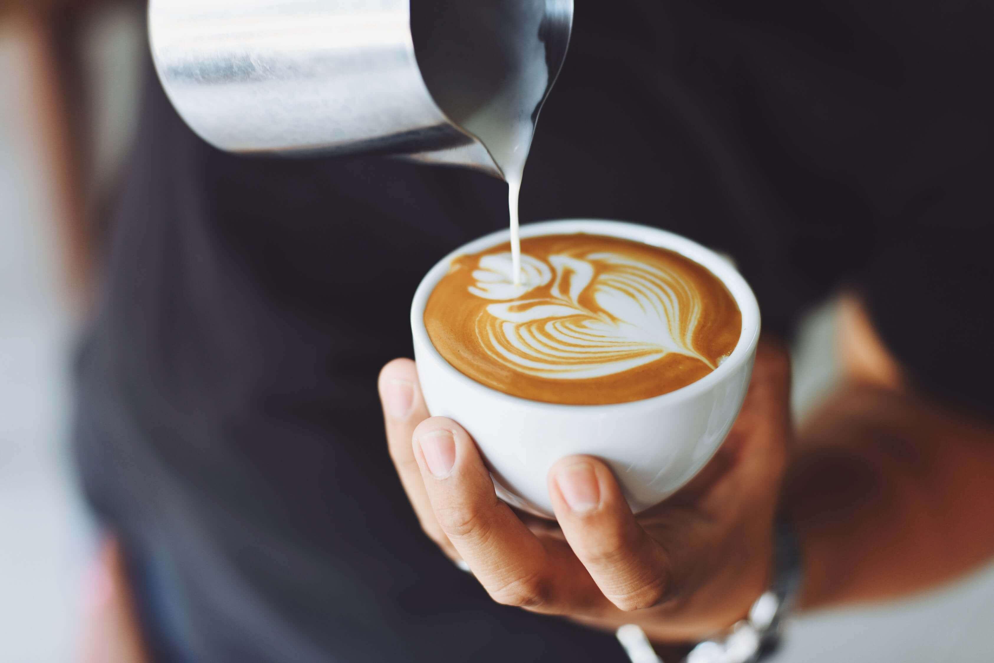 Latte Yapımı, making latte