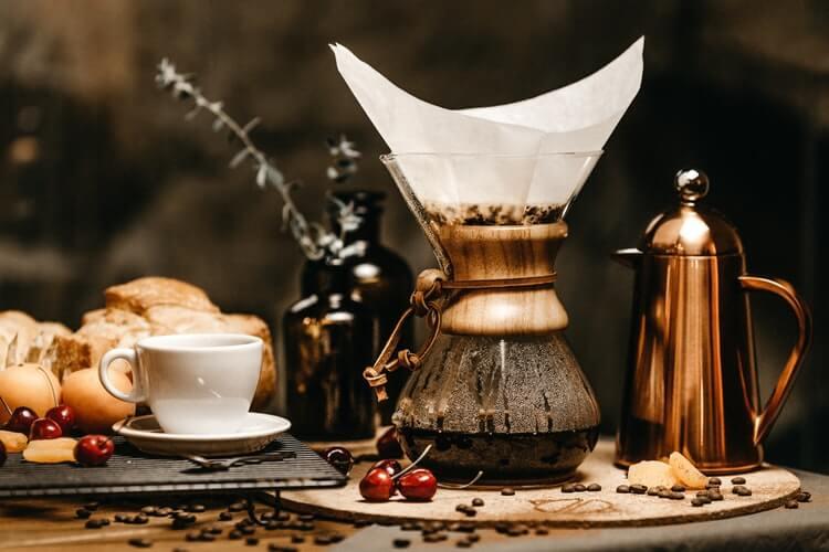 EVde Filtre Kahve, Homemade Filter Cofee