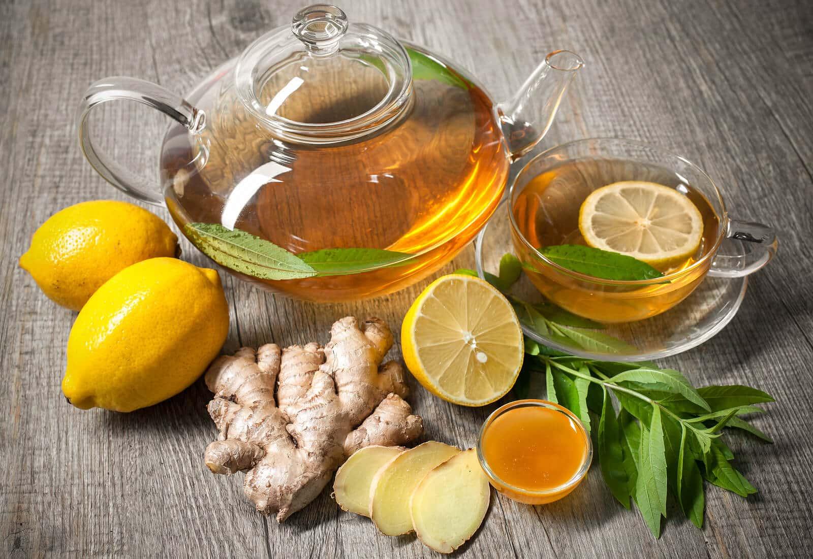 Zencefil çayı, Ginger çayı