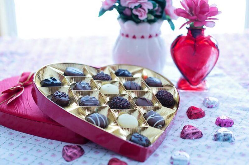14 Şubat hediye çikolata