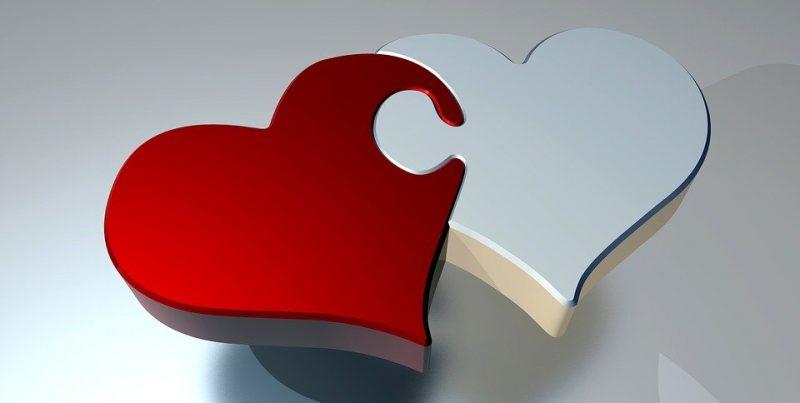 sevgililer günü hediye puzzle