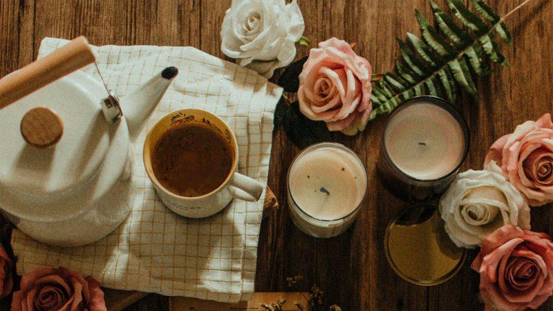 vintage-kahve-sunumu
