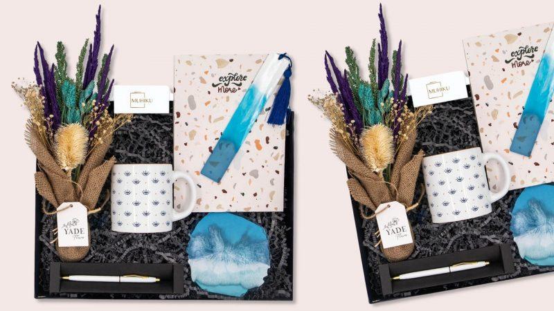 mavi ruzgar hediye kutusu